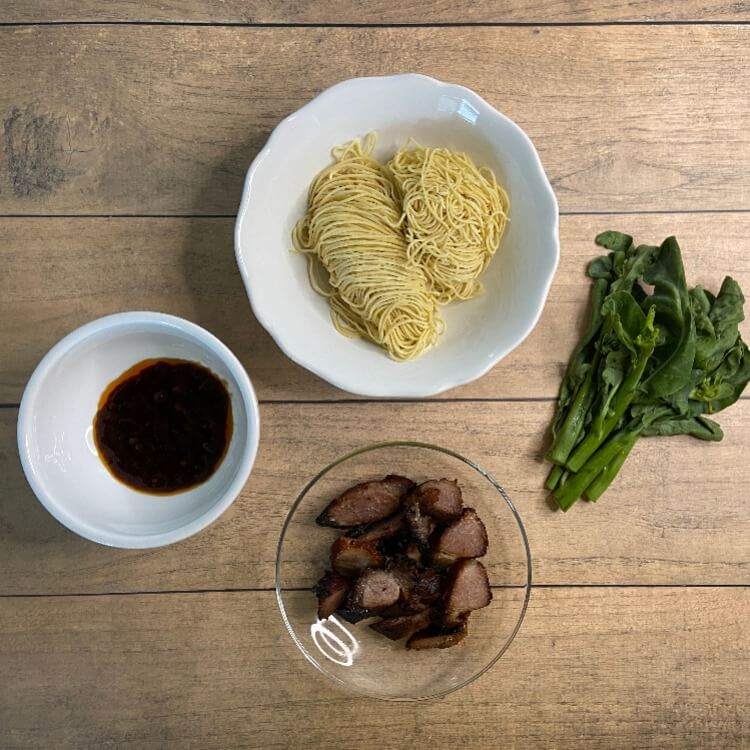 char siew noodle ingredients