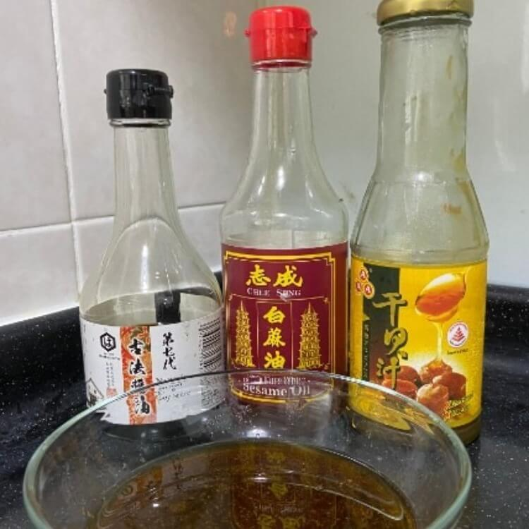 sauce for ee fu mian birthday noodles
