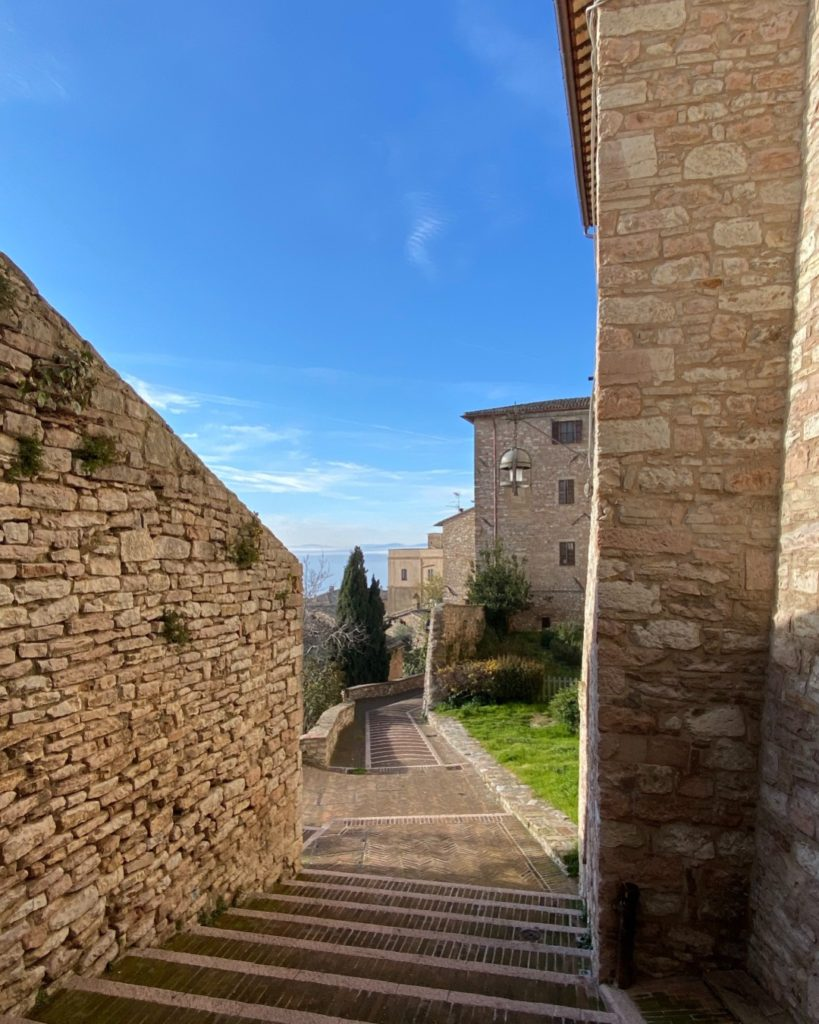 architecture in Assisi
